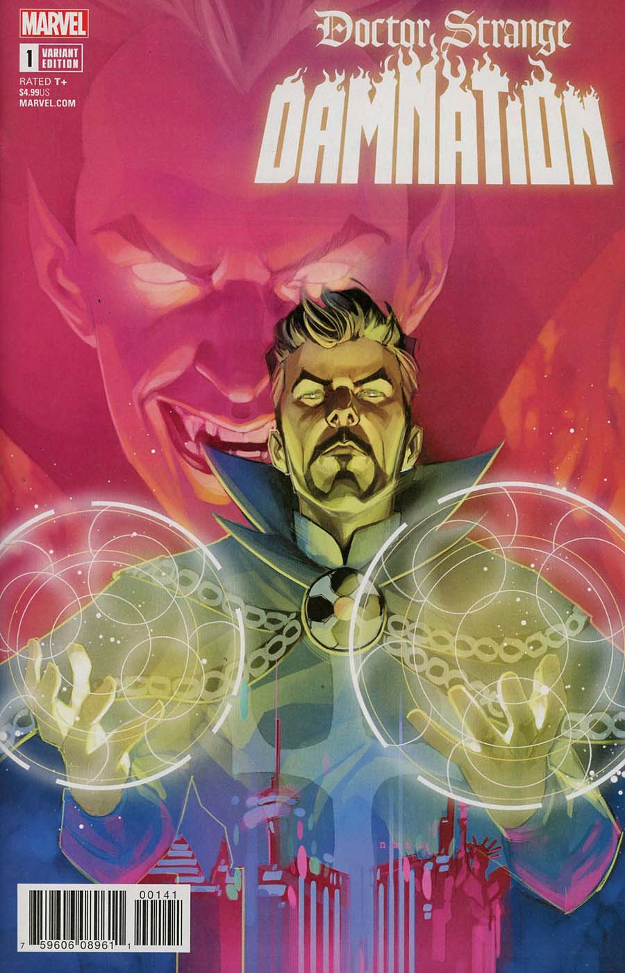 Doctor Strange Damnation #1 Cover F Incentive Phil Noto Variant Cover (Marvel Legacy Tie-In)