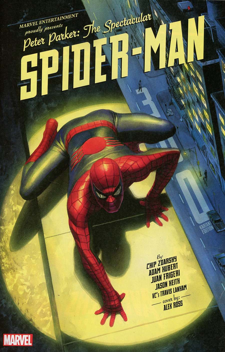 Peter Parker Spectacular Spider-Man #300 Cover F Incentive Alex Ross Variant Cover (Marvel Legacy Tie-In)