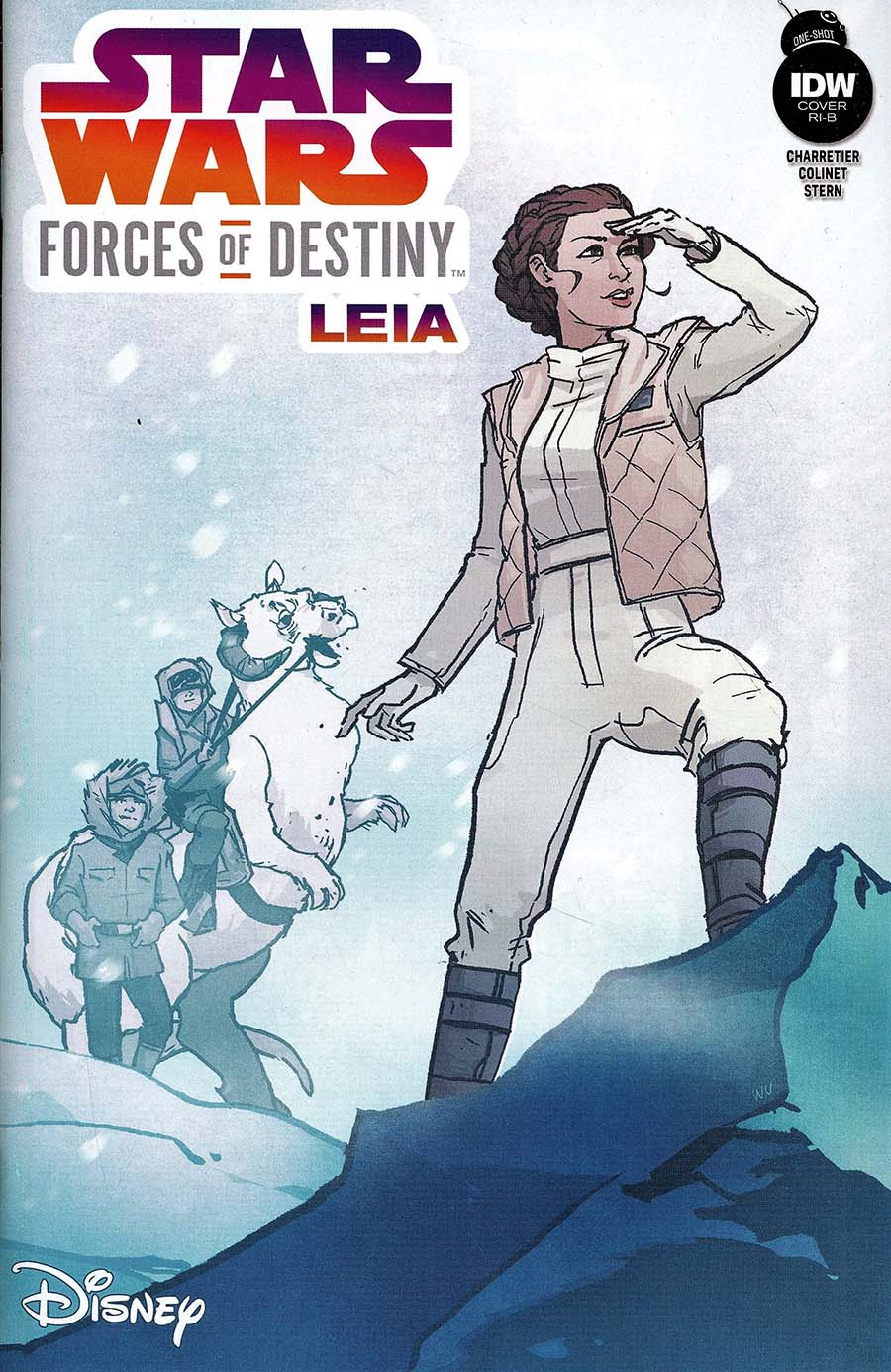 Star Wars Adventures #1 Cover B Variant Elsa Charretier Cover IDW -2017