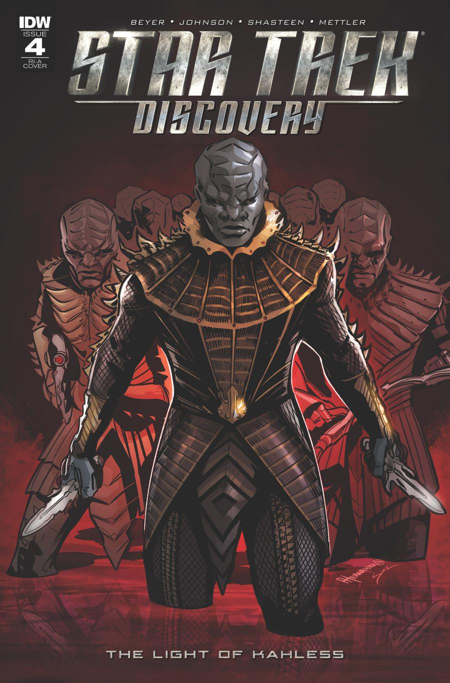 Star Trek Discovery #4 Cover C Incentive Angel Hernandez Variant Cover