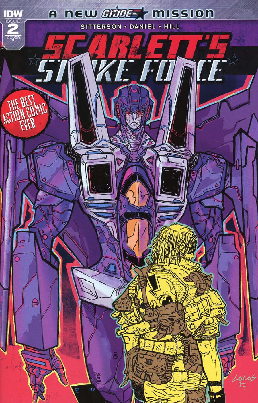 Scarletts Strike Force #2 Cover C Incentive Vasilis Lolos Variant Cover