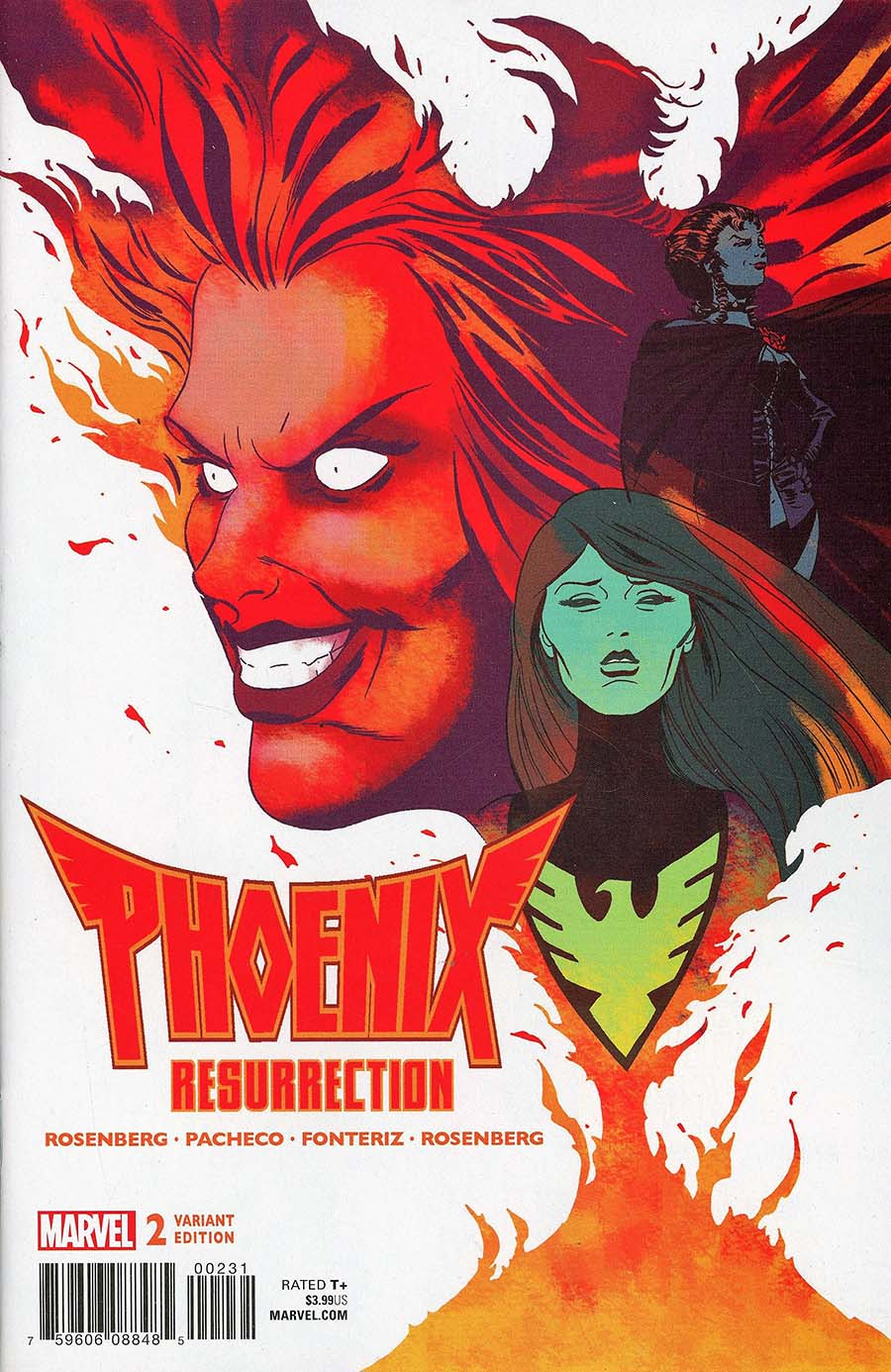 Phoenix Resurrection Return Of (Adult) Jean Grey #2 Cover D Incentive Marcos Martin Variant Cover (Marvel Legacy Tie-In)