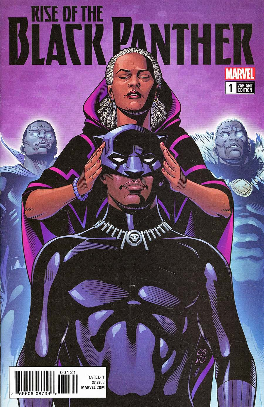 Rise Of The Black Panther #1 Cover E Incentive Chris Sprouse Variant Cover (Marvel Legacy Tie-In)