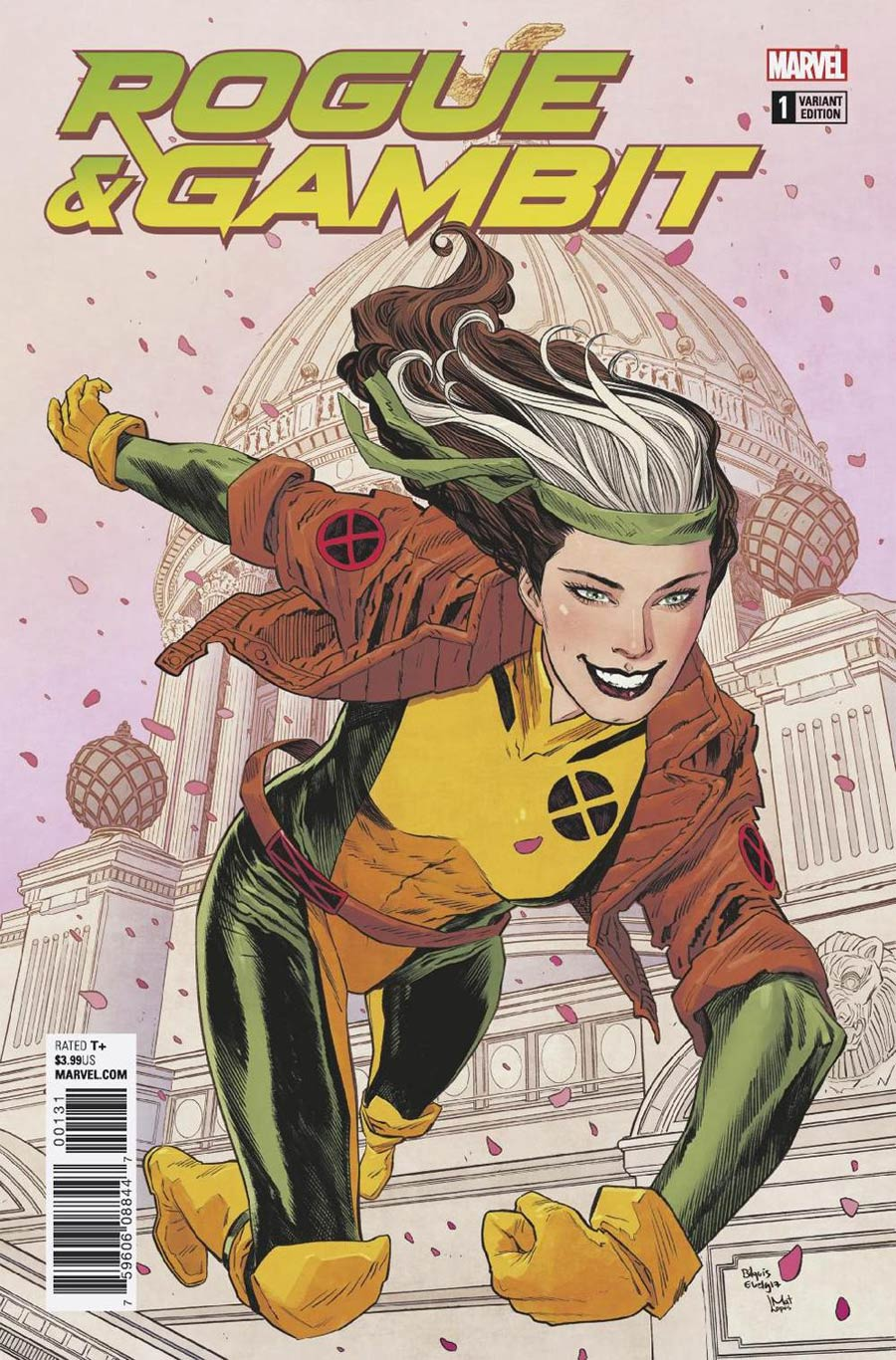 Rogue & Gambit #1 Cover F Incentive Bilquis Evely Variant Cover (Marvel Legacy Tie-In)