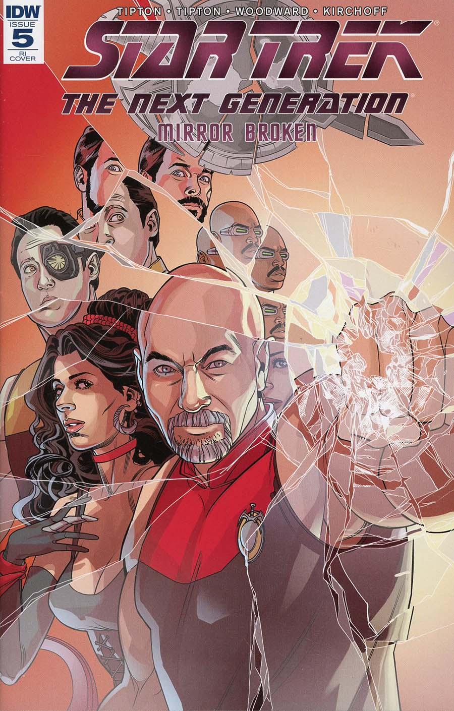 Star Trek The Next Generation Mirror Broken #5 Cover C Incentive Rachael Stott Variant Cover