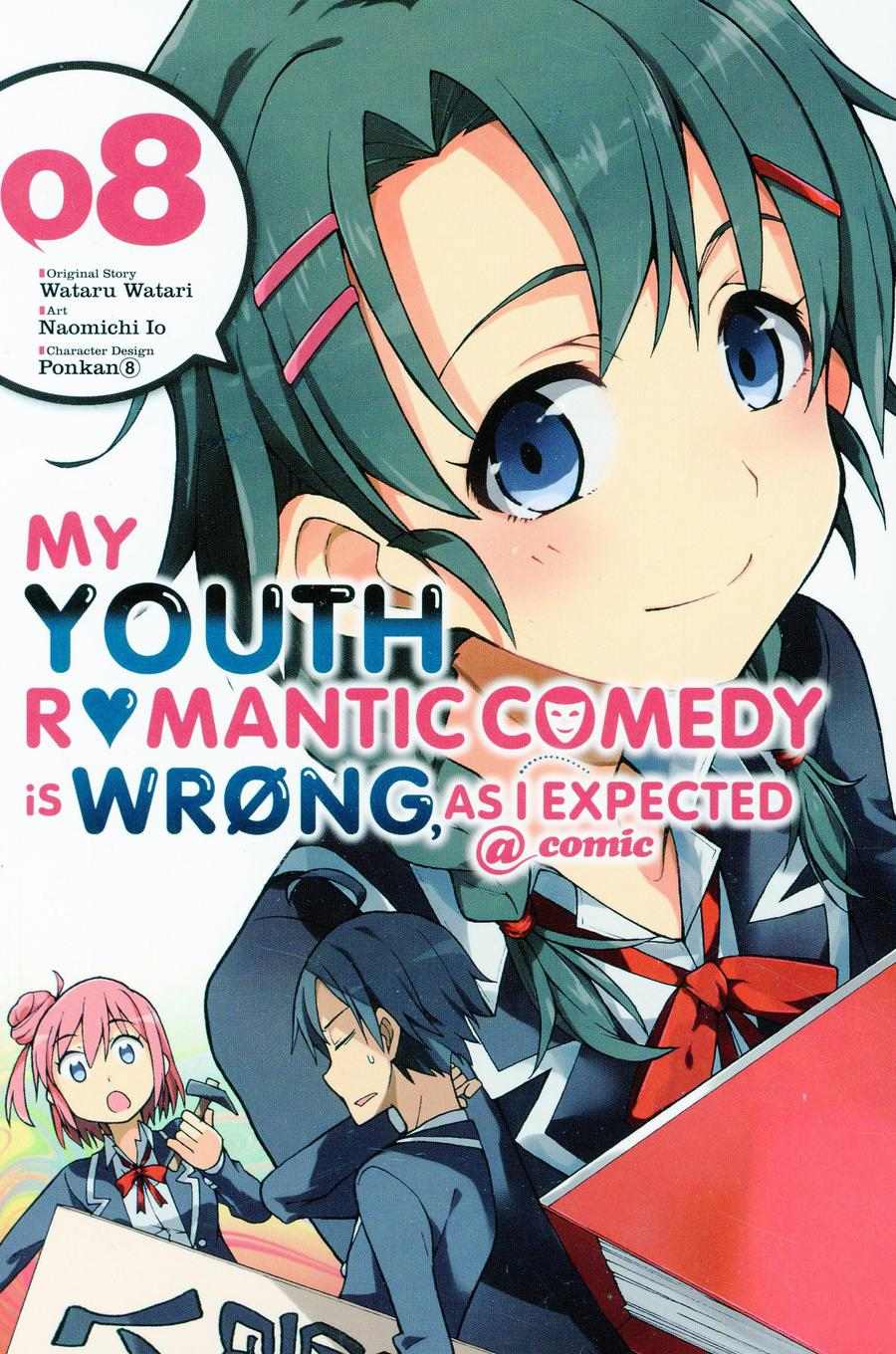My Youth Romantic Comedy Is Wrong As I Expected Vol 8 GN