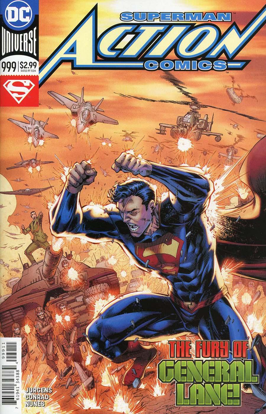 Action Comics Vol 2 #999 Cover A Regular Brett Booth & Norm Rapmund Cover