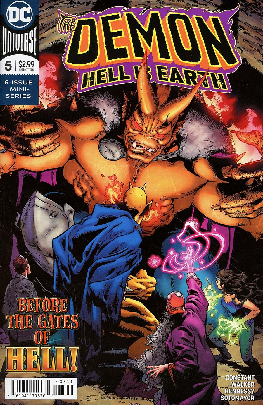 Demon Hell Is Earth #5