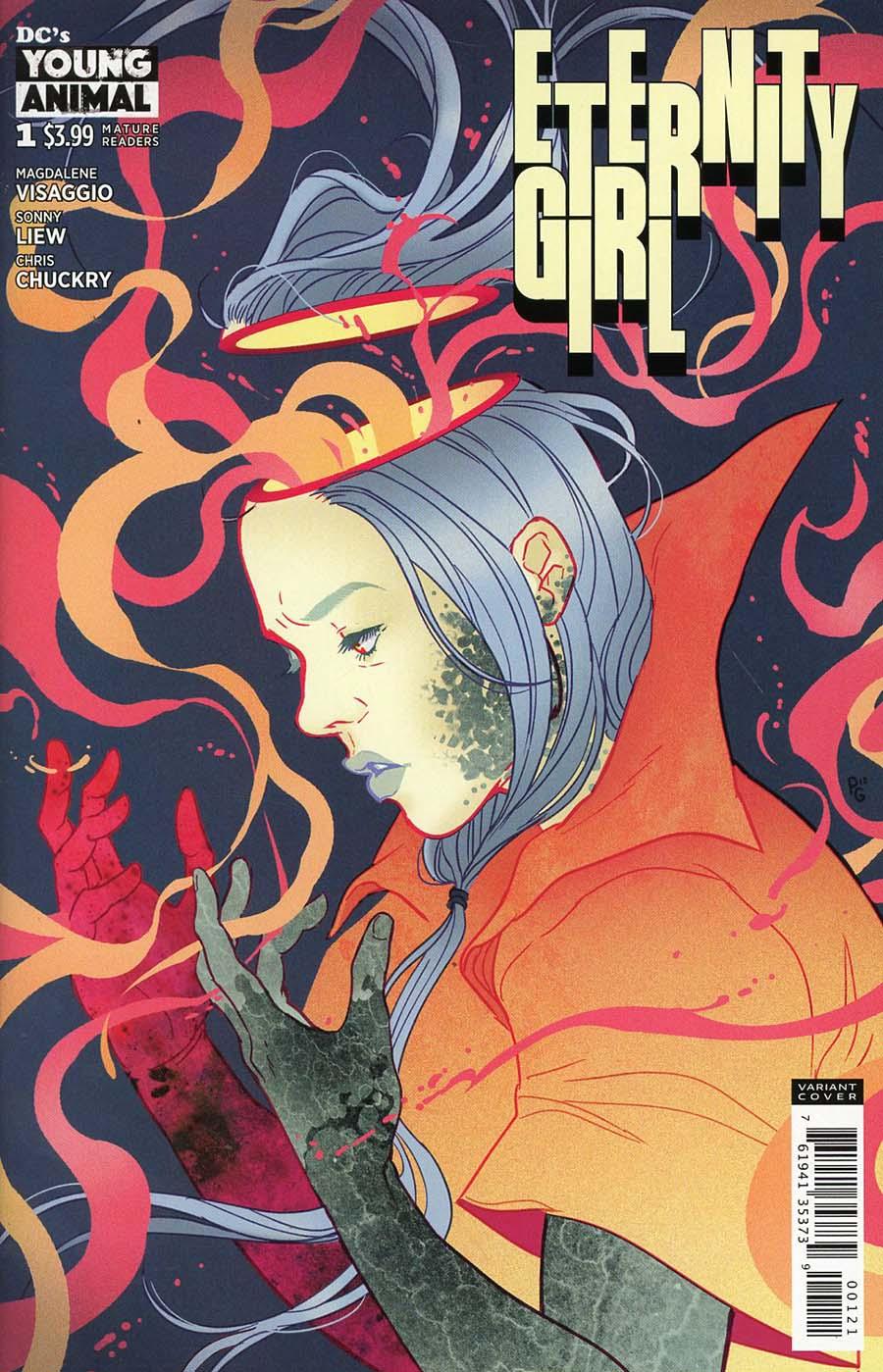 Eternity Girl #1 Cover B Variant Paulina Ganucheau Cover