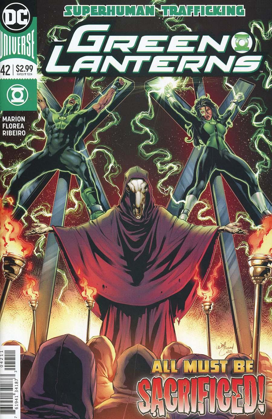 Green Lanterns #42 Cover A Regular Will Conrad Cover