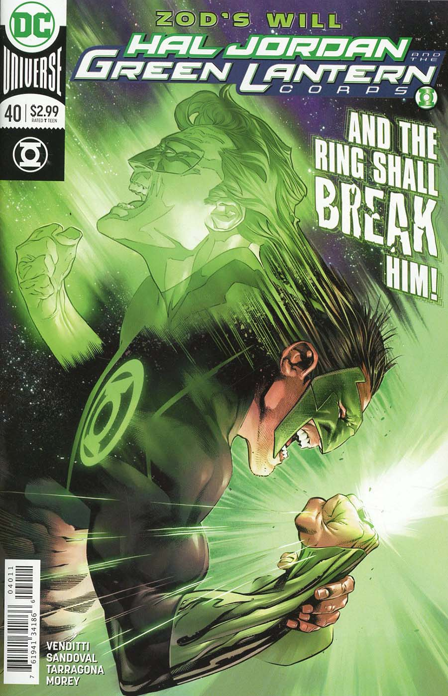 Hal Jordan And The Green Lantern Corps #40 Cover A Regular Rafa Sandoval & Jordi Tarragona Cover