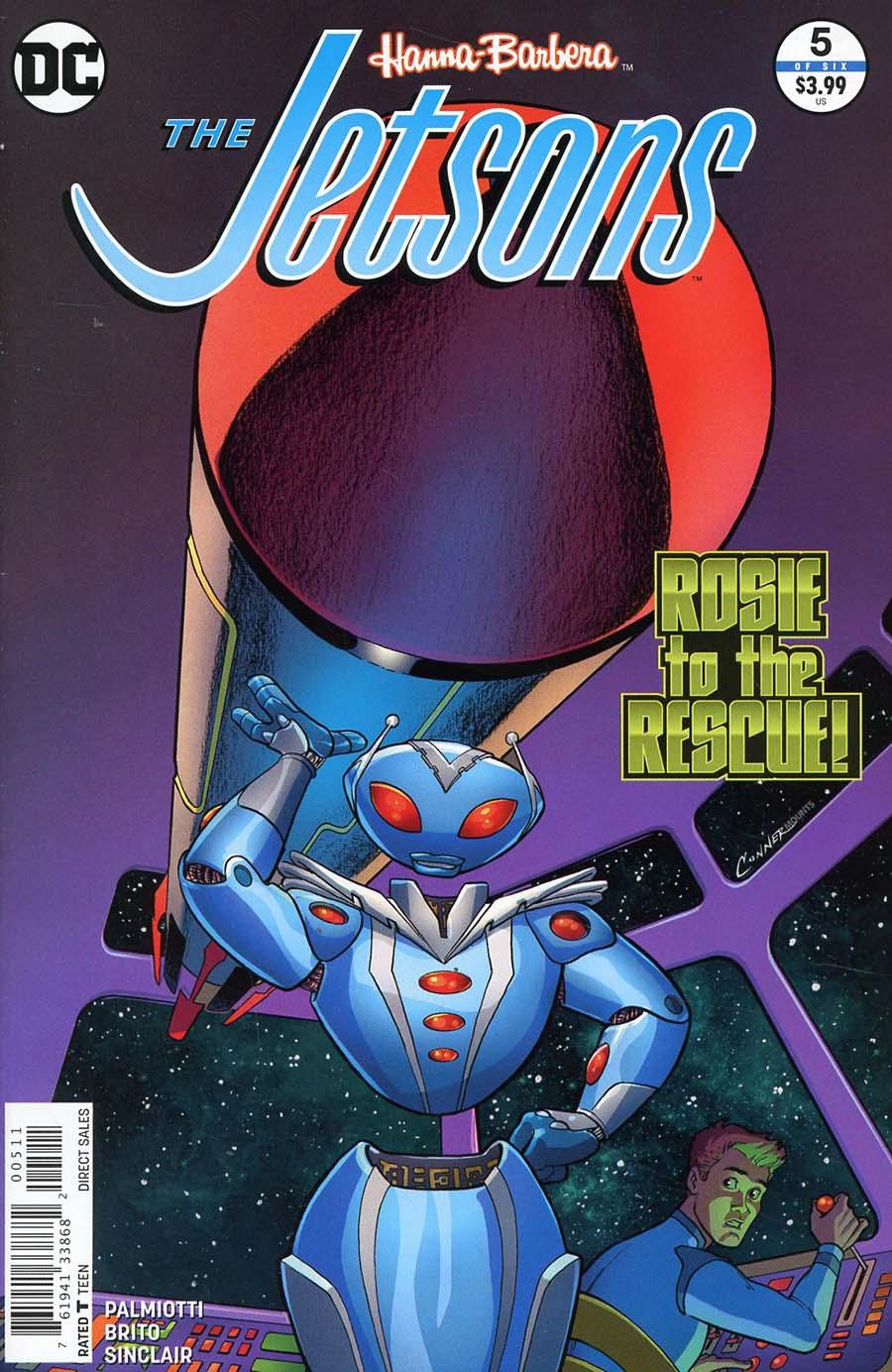Jetsons (DC) #5 Cover A Regular Amanda Conner Cover