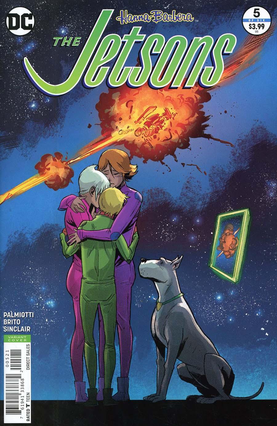 Jetsons (DC) #5 Cover B Variant Sanford Greene Cover