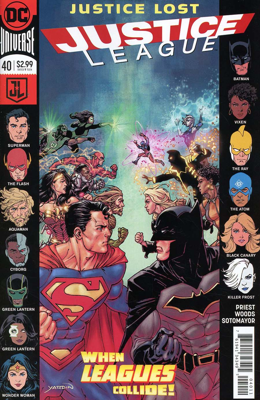 Justice League Vol 3 #40 Cover A Regular David Yardin Cover