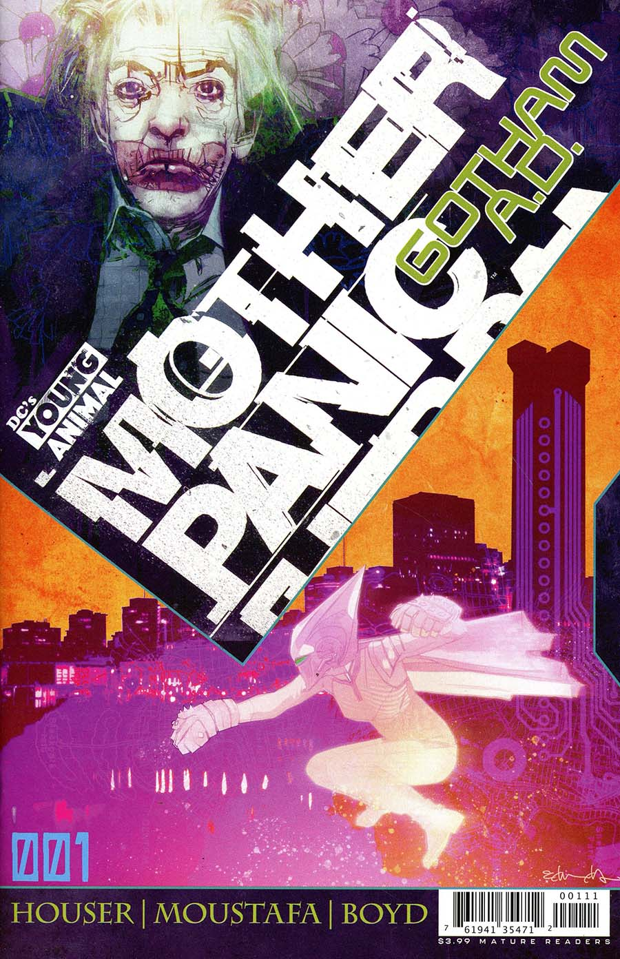 Mother Panic Gotham A.D. #1 Cover A Regular Tommy Lee Edwards Cover