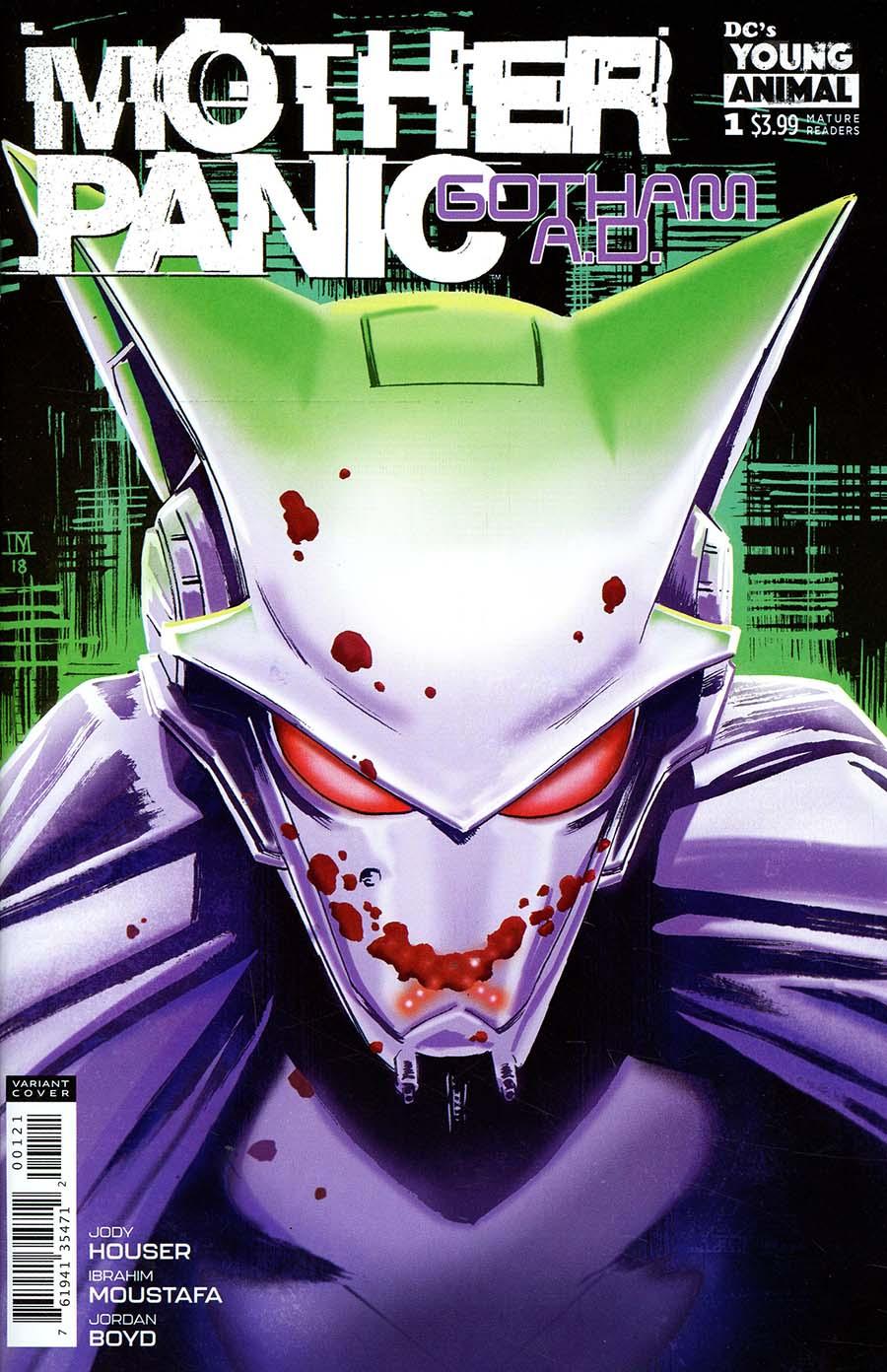 Mother Panic Gotham A.D. #1 Cover B Variant Ibrahim Moustafa Cover