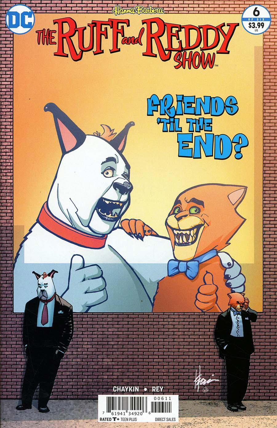 Ruff & Reddy Show #6 Cover A Regular Howard Chaykin Cover