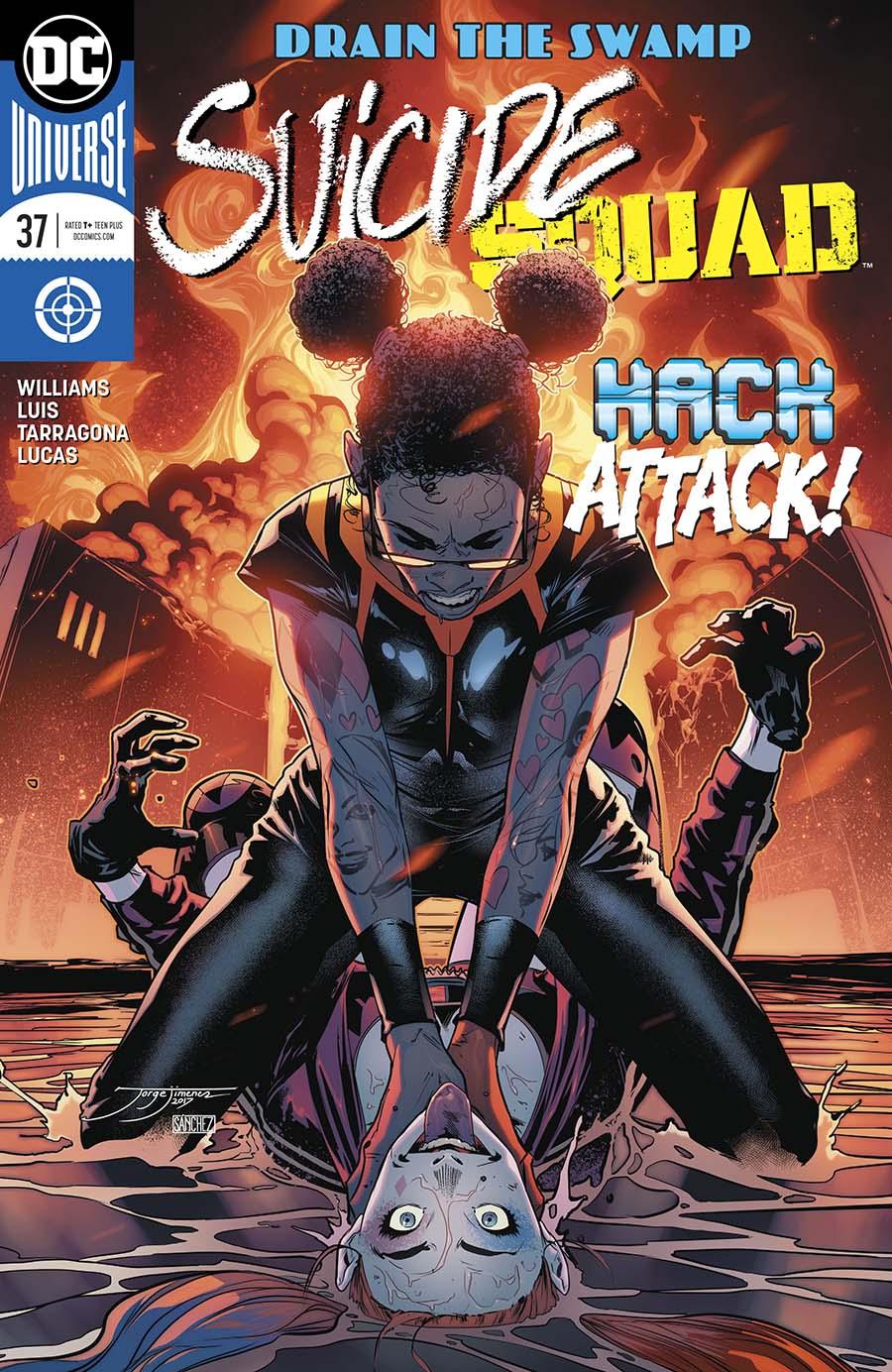 Suicide Squad Vol 4 #37 Cover A Regular Jorge Jimenez Cover