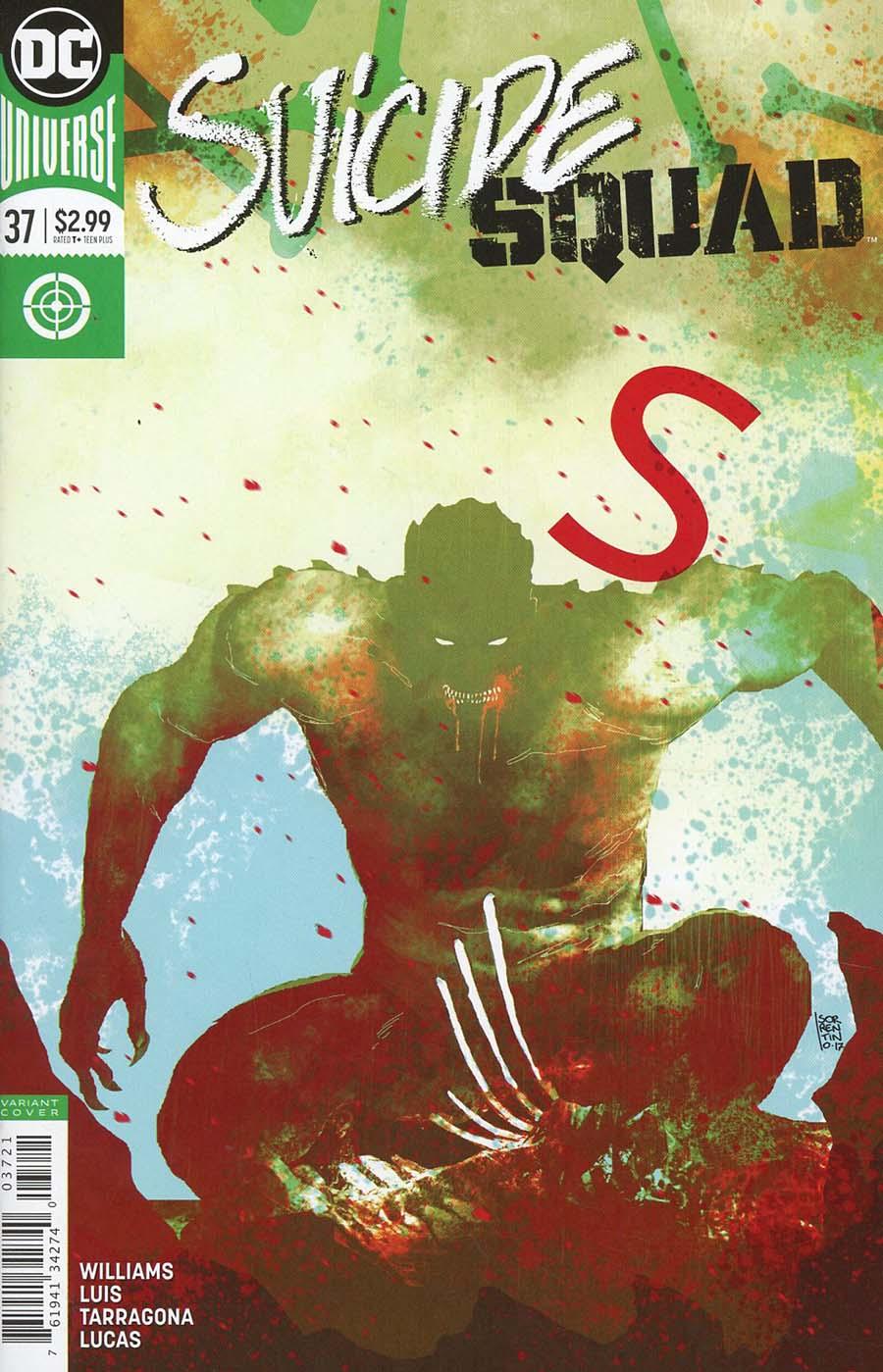 Suicide Squad Vol 4 #37 Cover B Variant Andrea Sorrentino Cover
