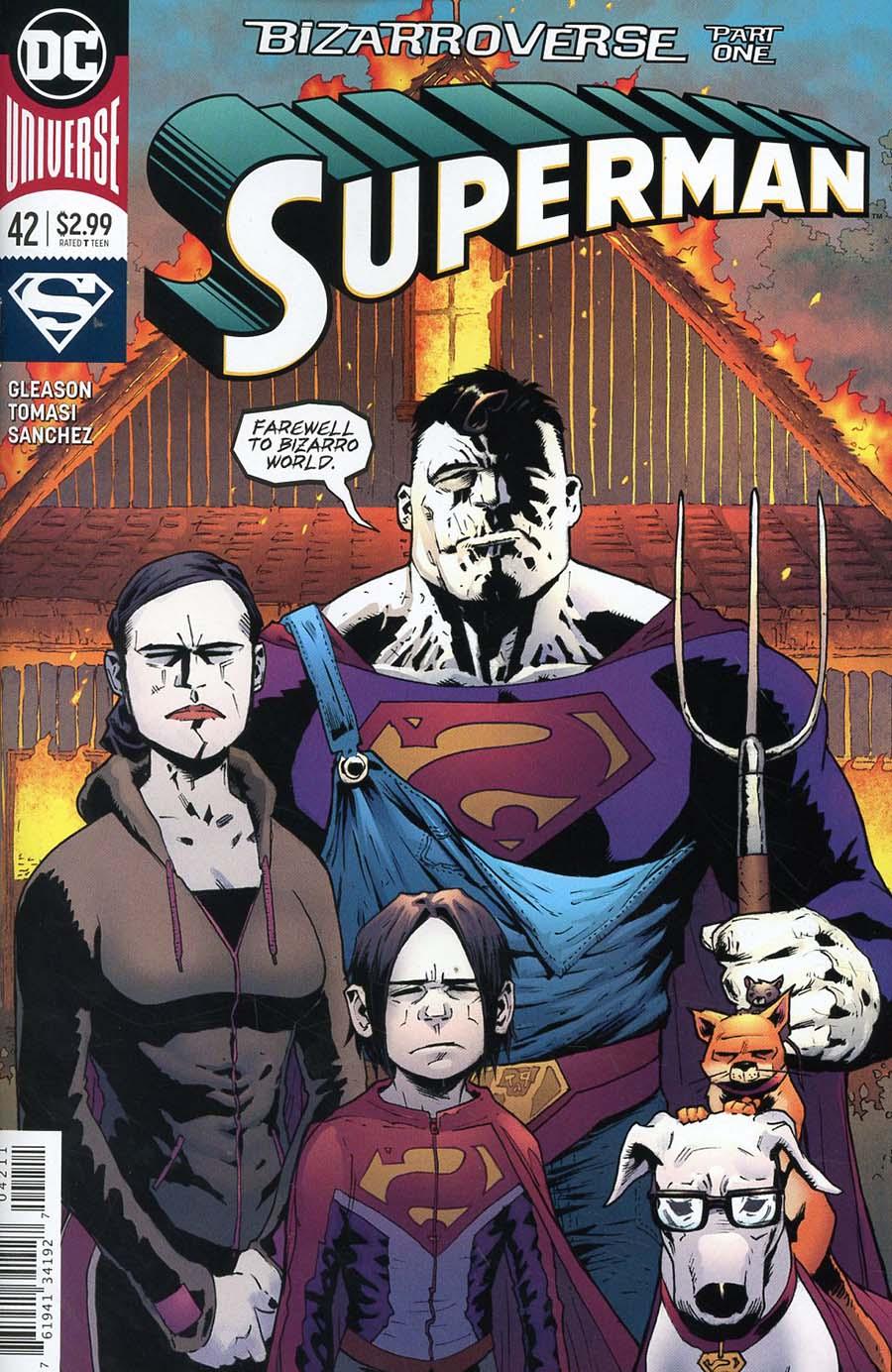 Superman Vol 5 #42 Cover A Regular Patrick Gleason Cover