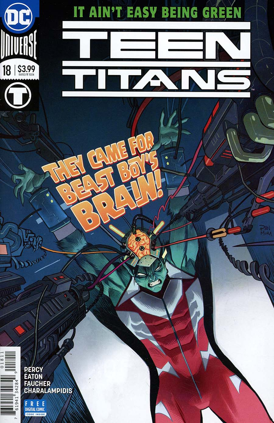 Teen Titans Vol 6 #18 Cover A Regular Dan Mora Cover