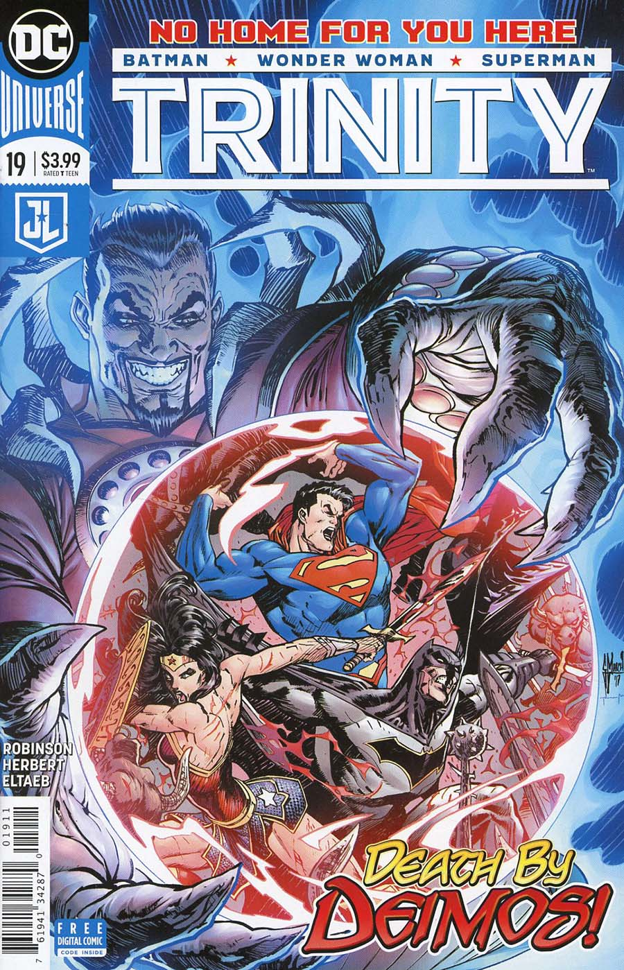 Trinity Vol 2 #19 Cover A Regular Guillem March Cover
