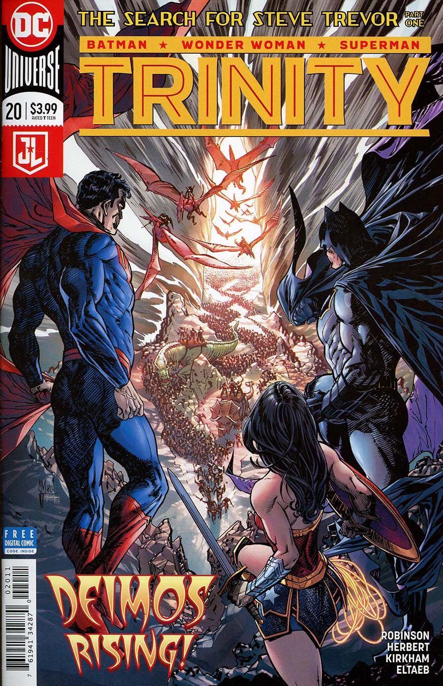 Trinity Vol 2 #20 Cover A Regular Guillem March Cover