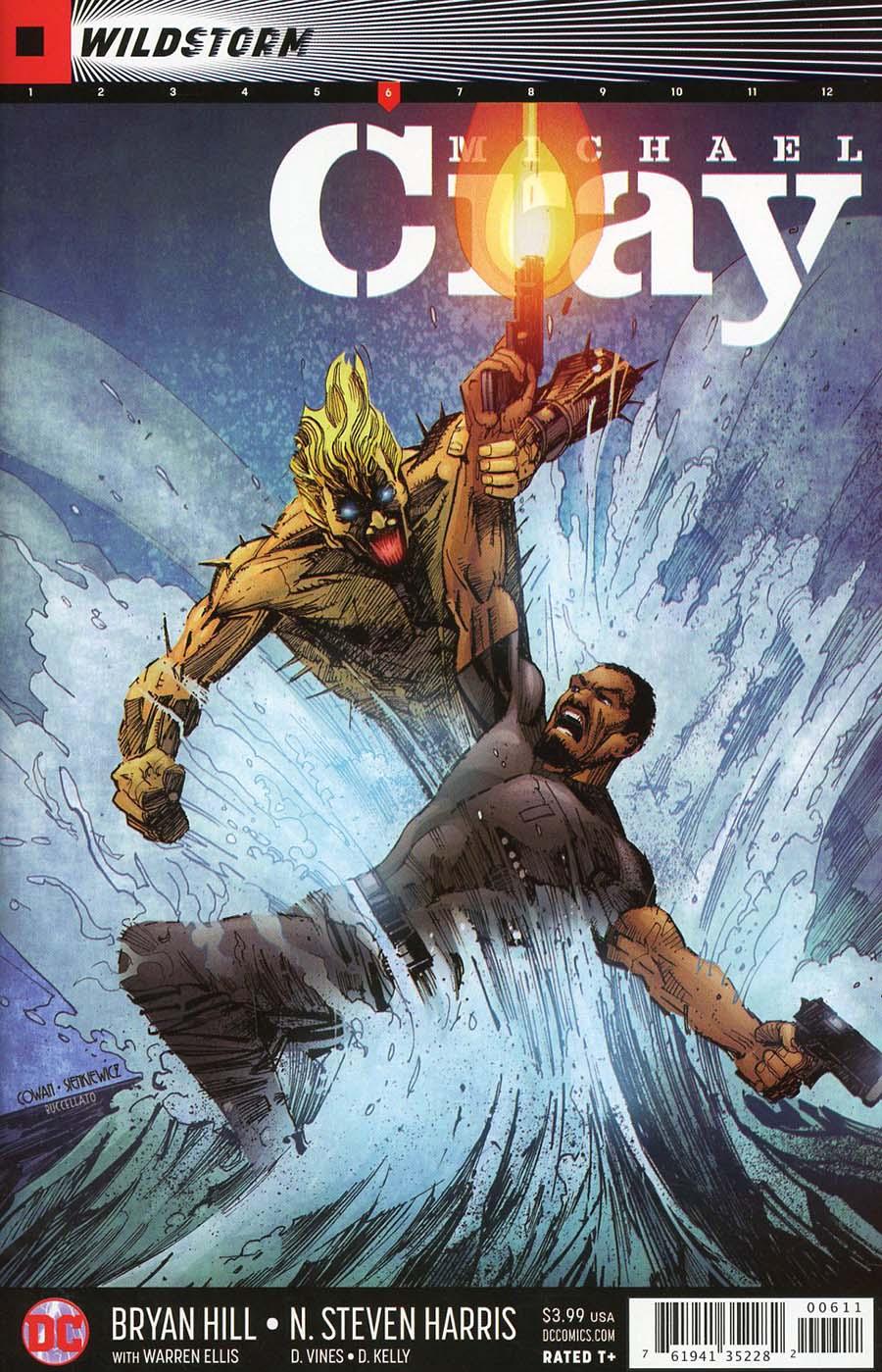 Wildstorm Michael Cray #6 Cover A Regular Denys Cowan & Bill Sienkiewicz Cover