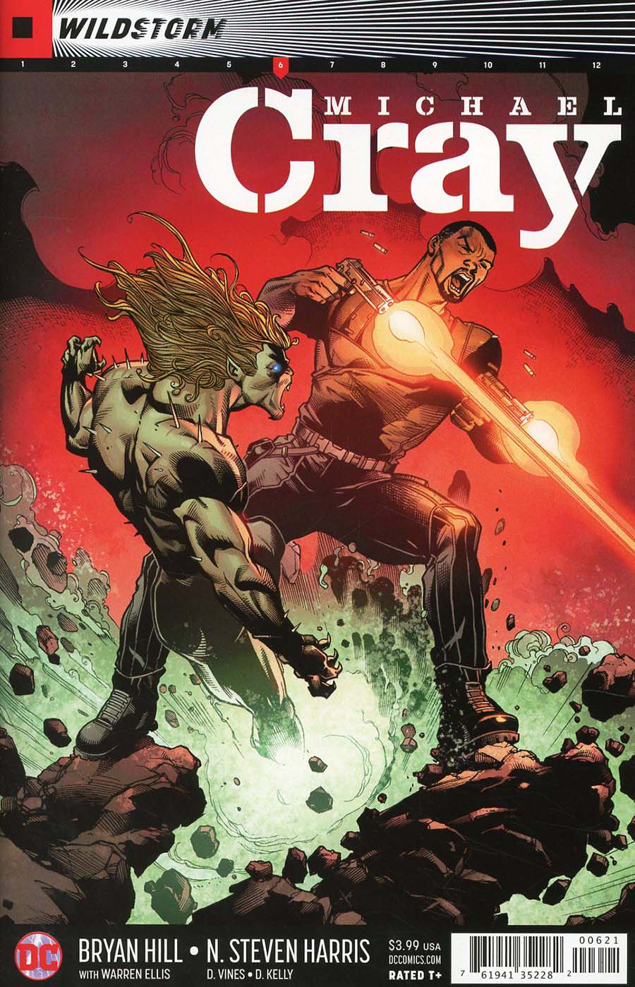 Wildstorm Michael Cray #6 Cover B Variant Larry Stroman Cover