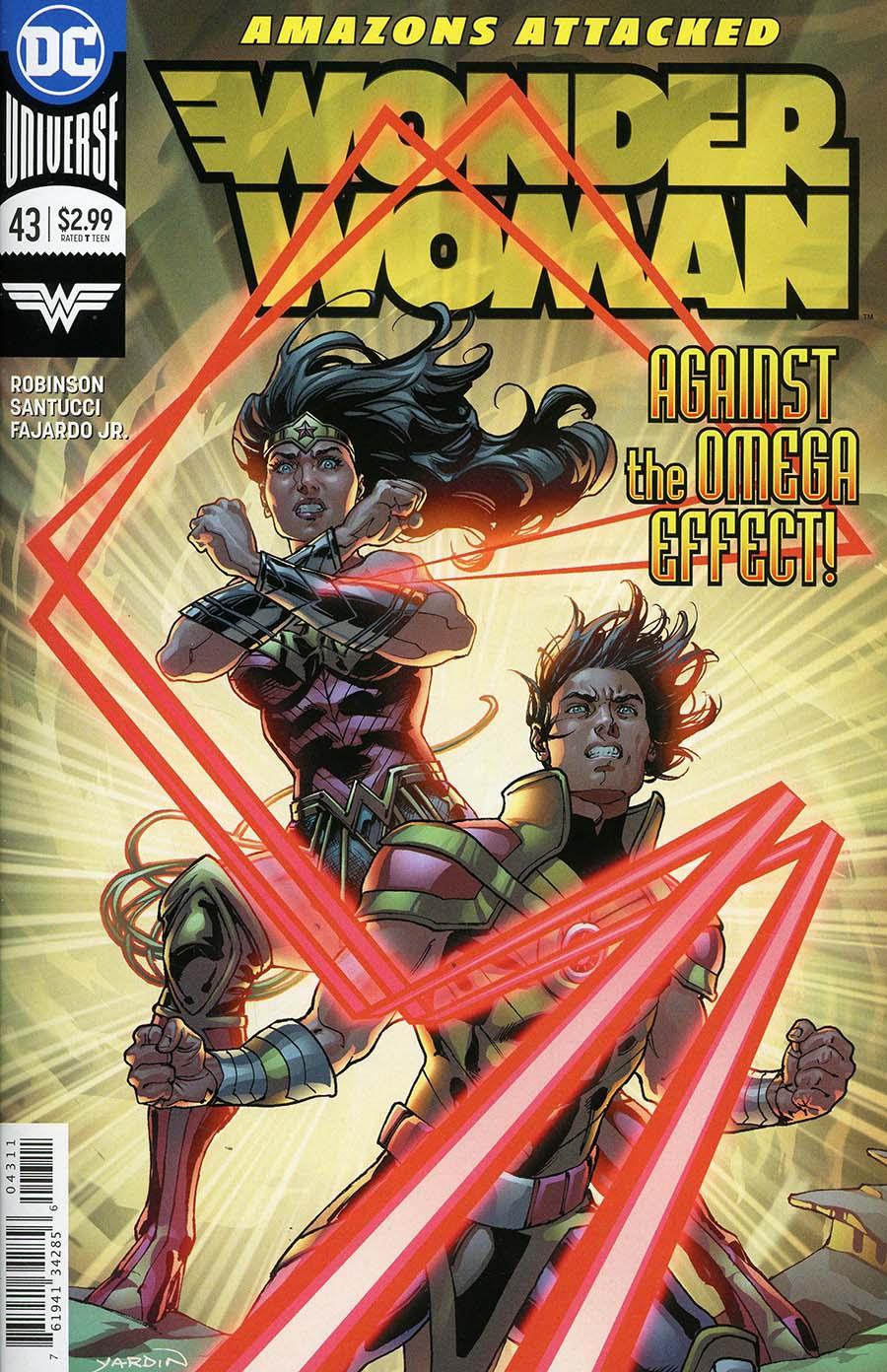 Wonder Woman Vol 5 #43 Cover A Regular Paul Renaud Cover