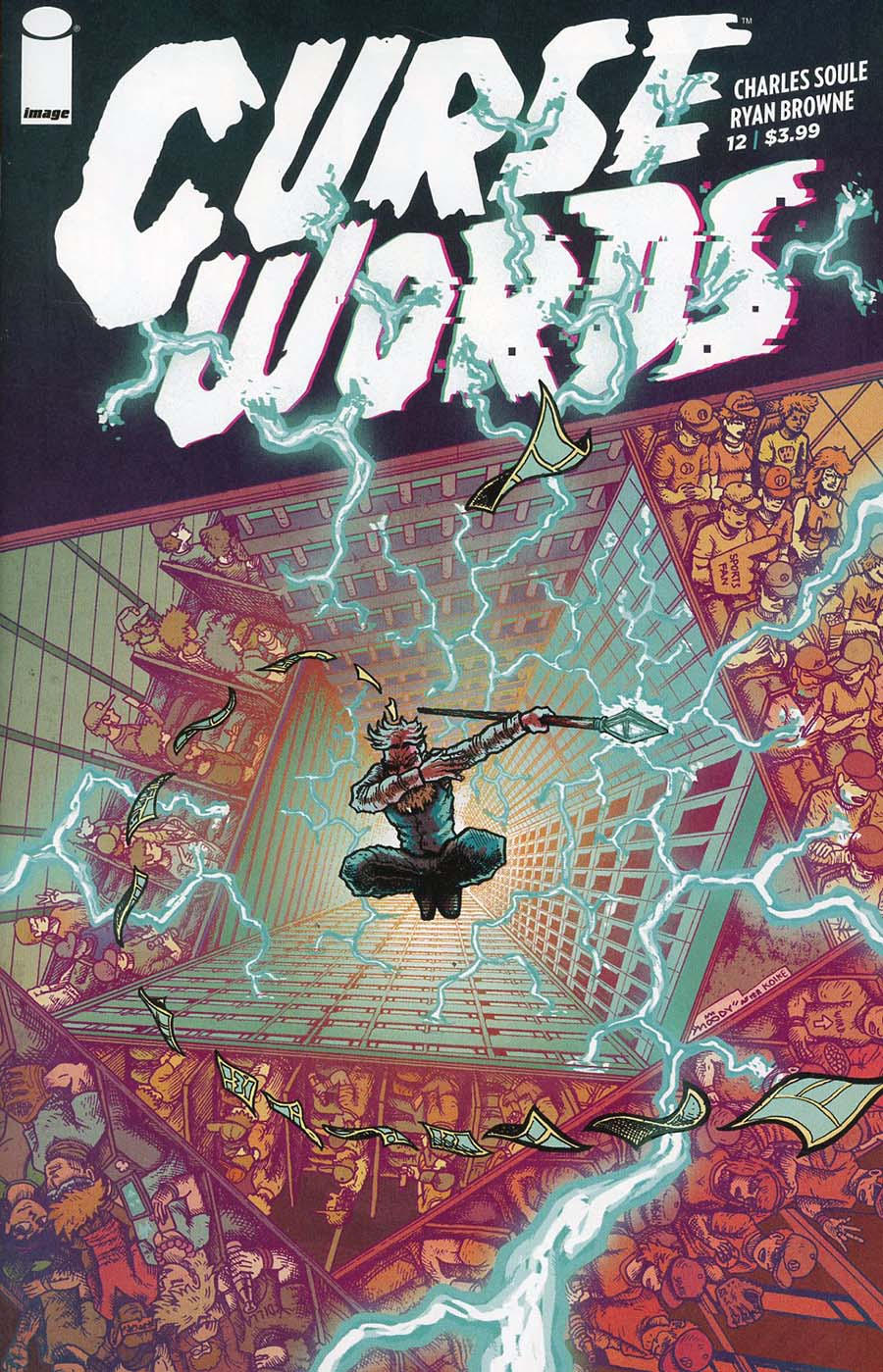 Curse Words #12 Cover B Variant Buster Moody Cover