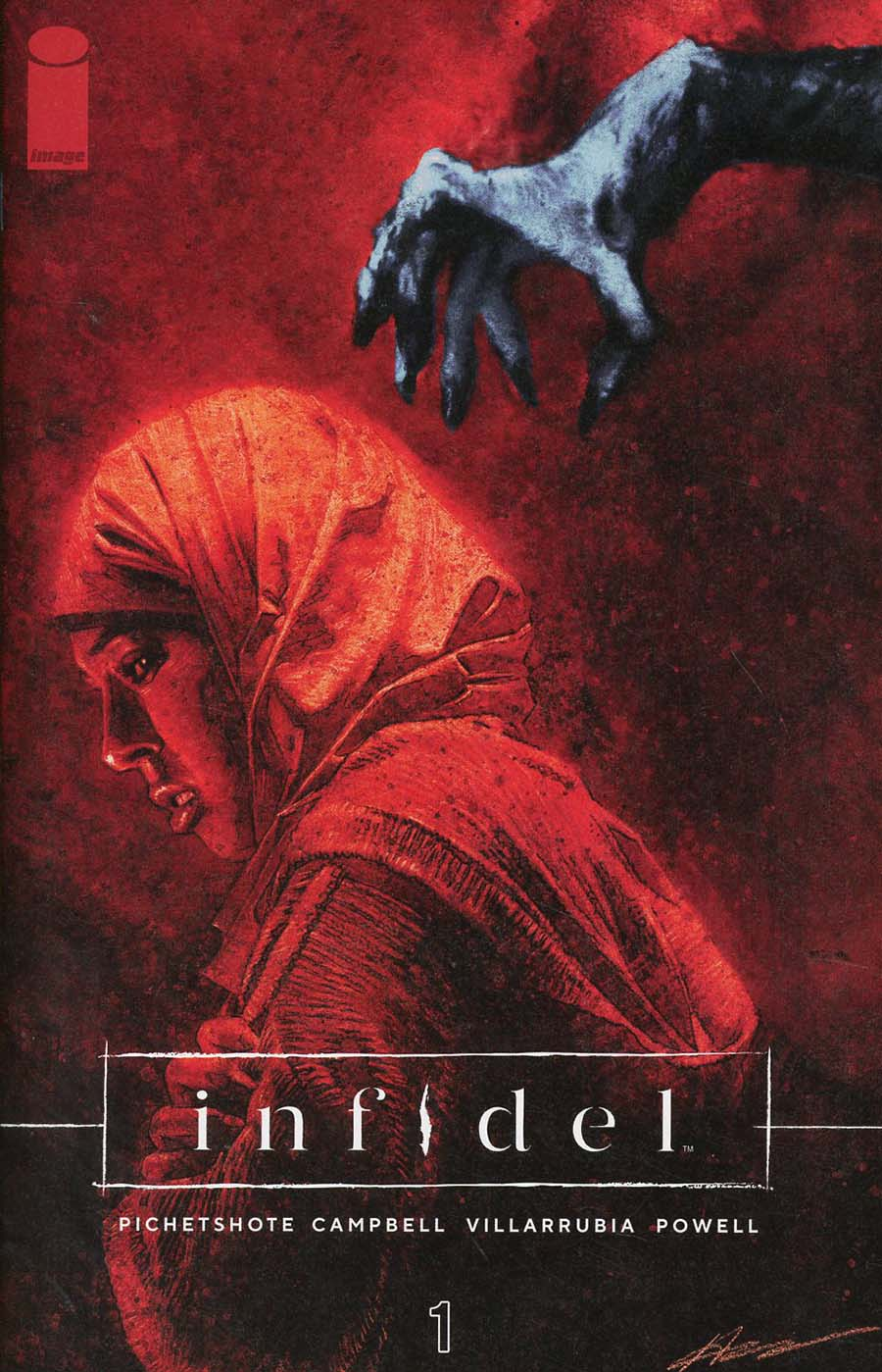 Infidel #1 Cover A Regular Aaron Campbell & Jose Villarrubia Cover
