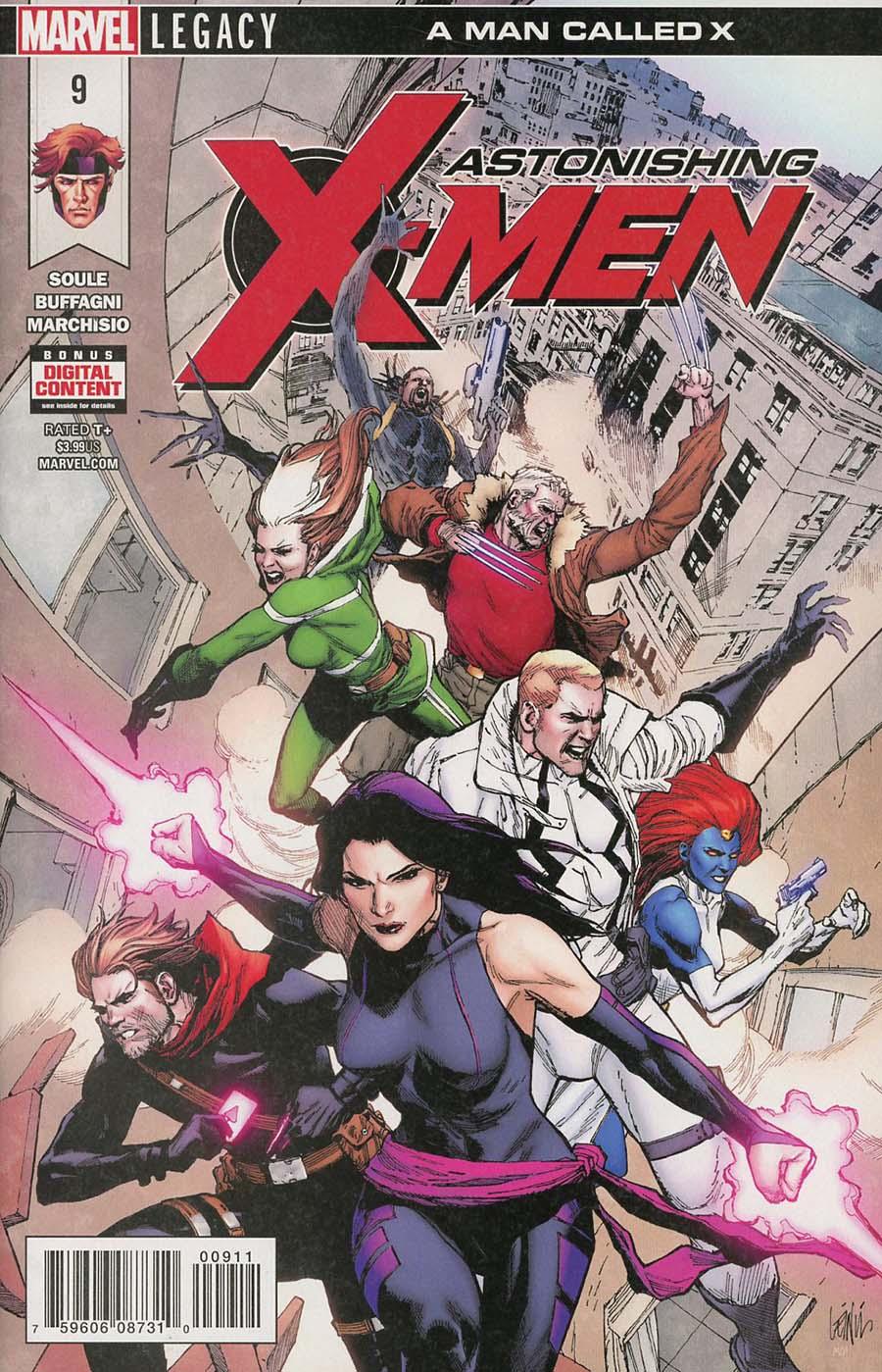 Astonishing X-Men Vol 4 #9 (Marvel Legacy Tie-In)