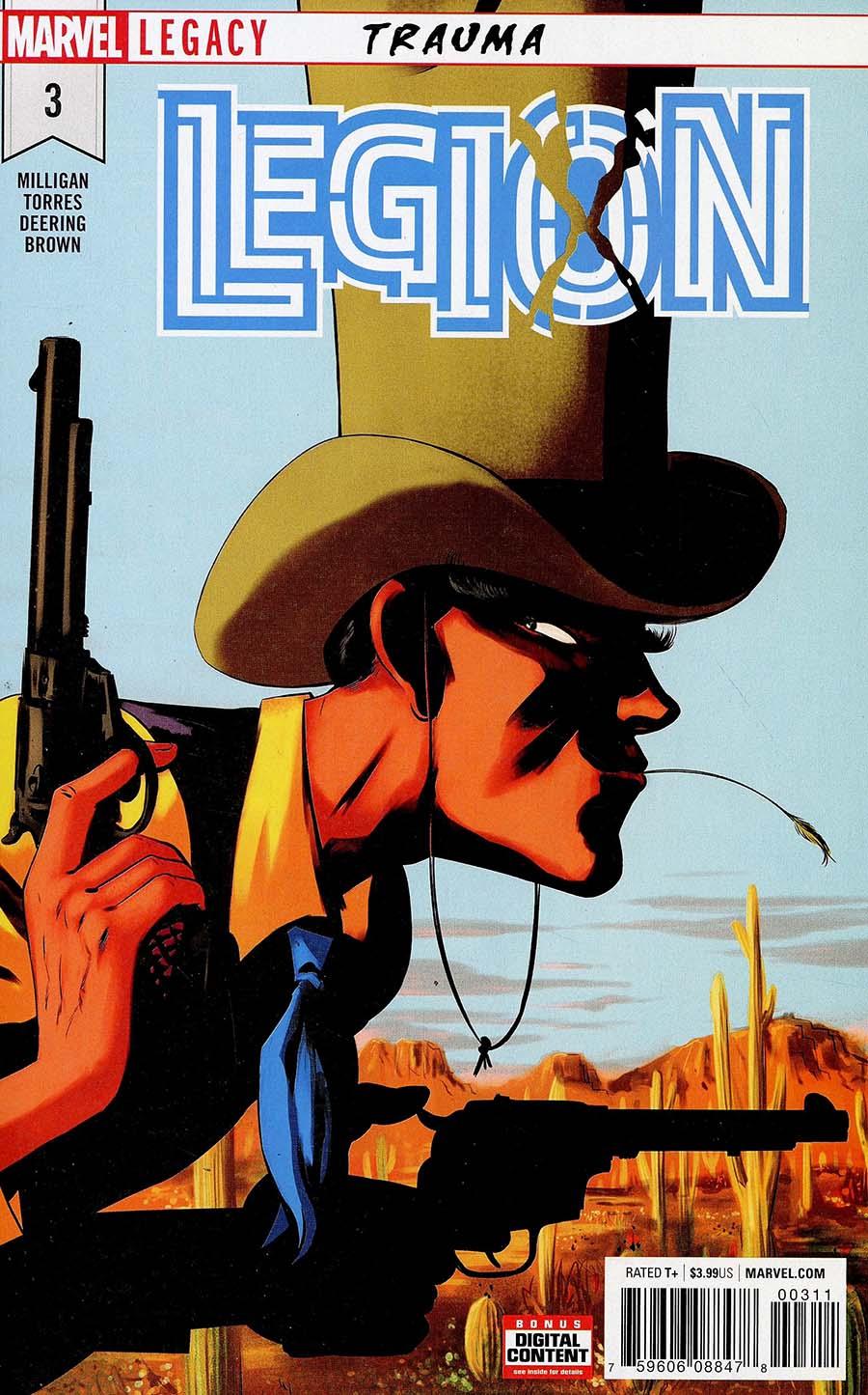Legion (Marvel) #3 (Marvel Legacy Tie-In)
