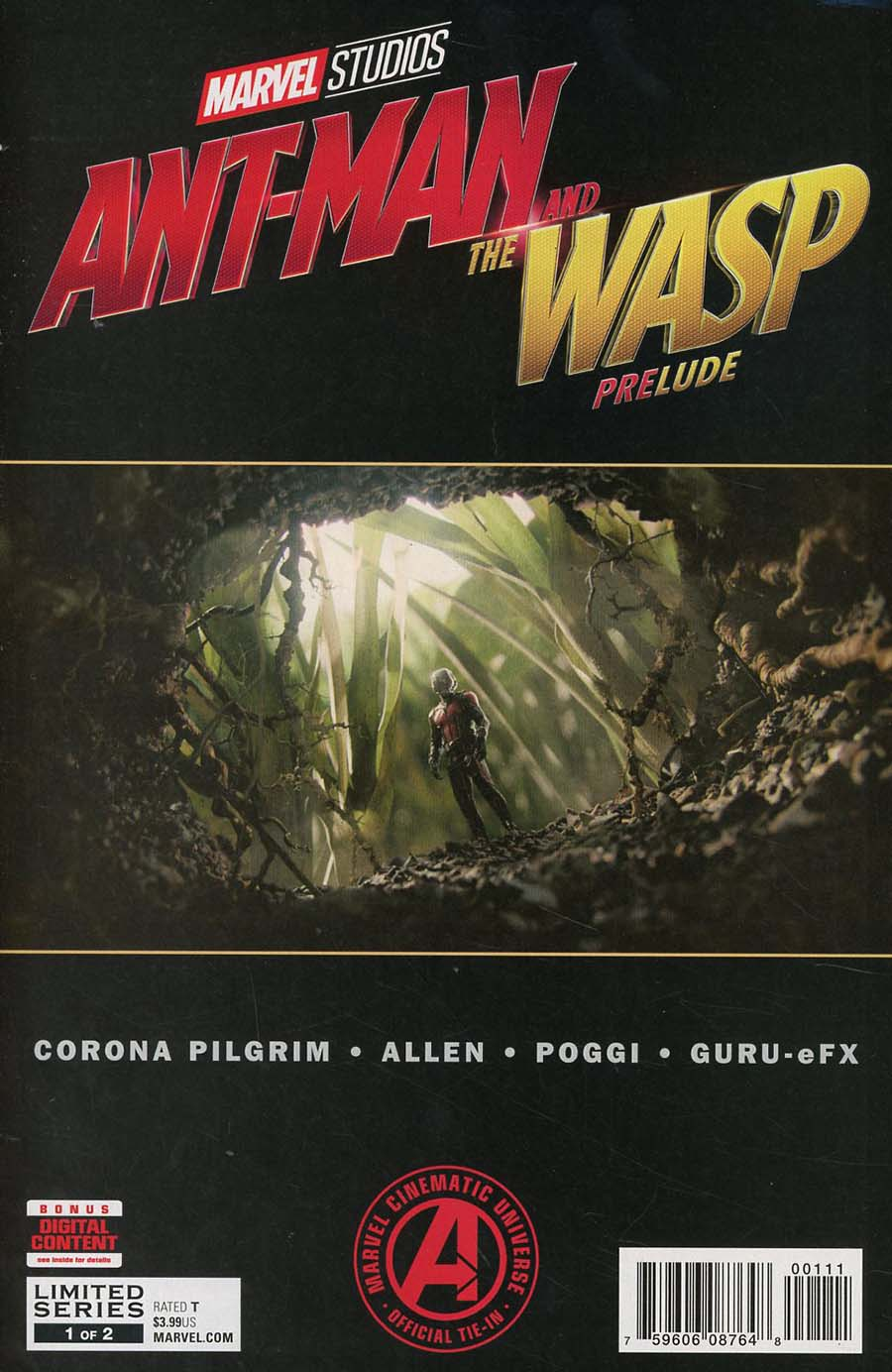 Marvels Ant-Man And The Wasp Prelude #1