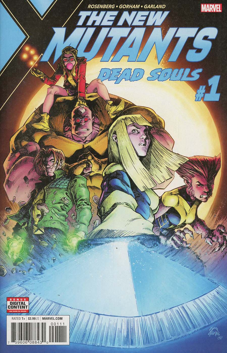 New Mutants Dead Souls #1 Cover A Regular Ryan Stegman Cover (Marvel Legacy Tie-In)