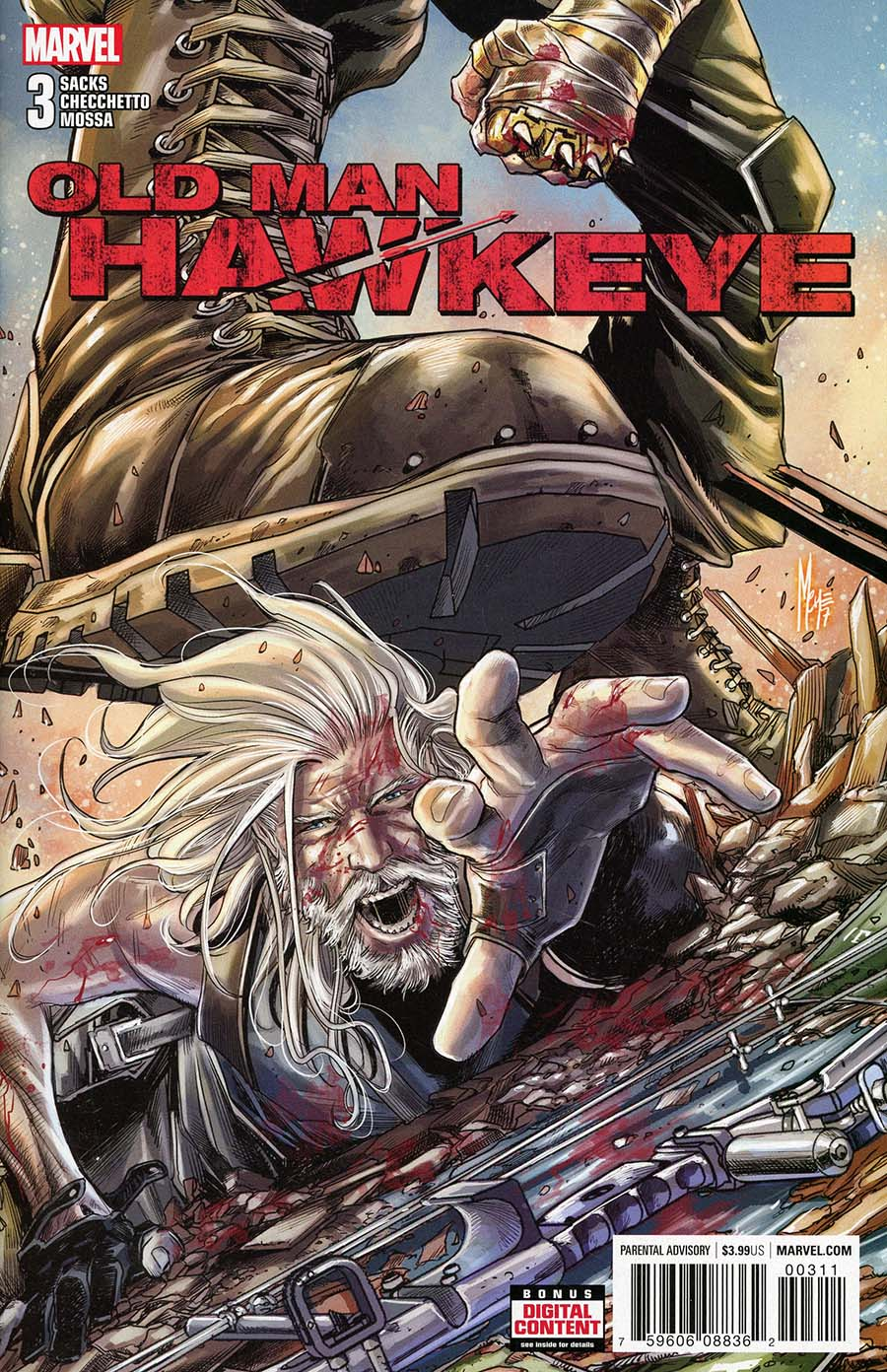 Old Man Hawkeye #3 Cover A 1st Ptg Regular Marco Checchetto Cover (Marvel Legacy Tie-In)