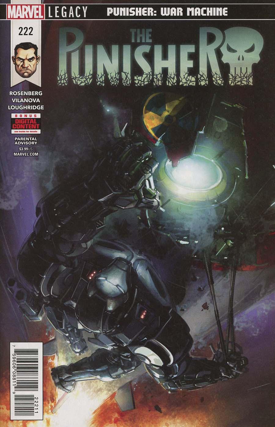 Punisher Vol 10 #222 (Marvel Legacy Tie-In)