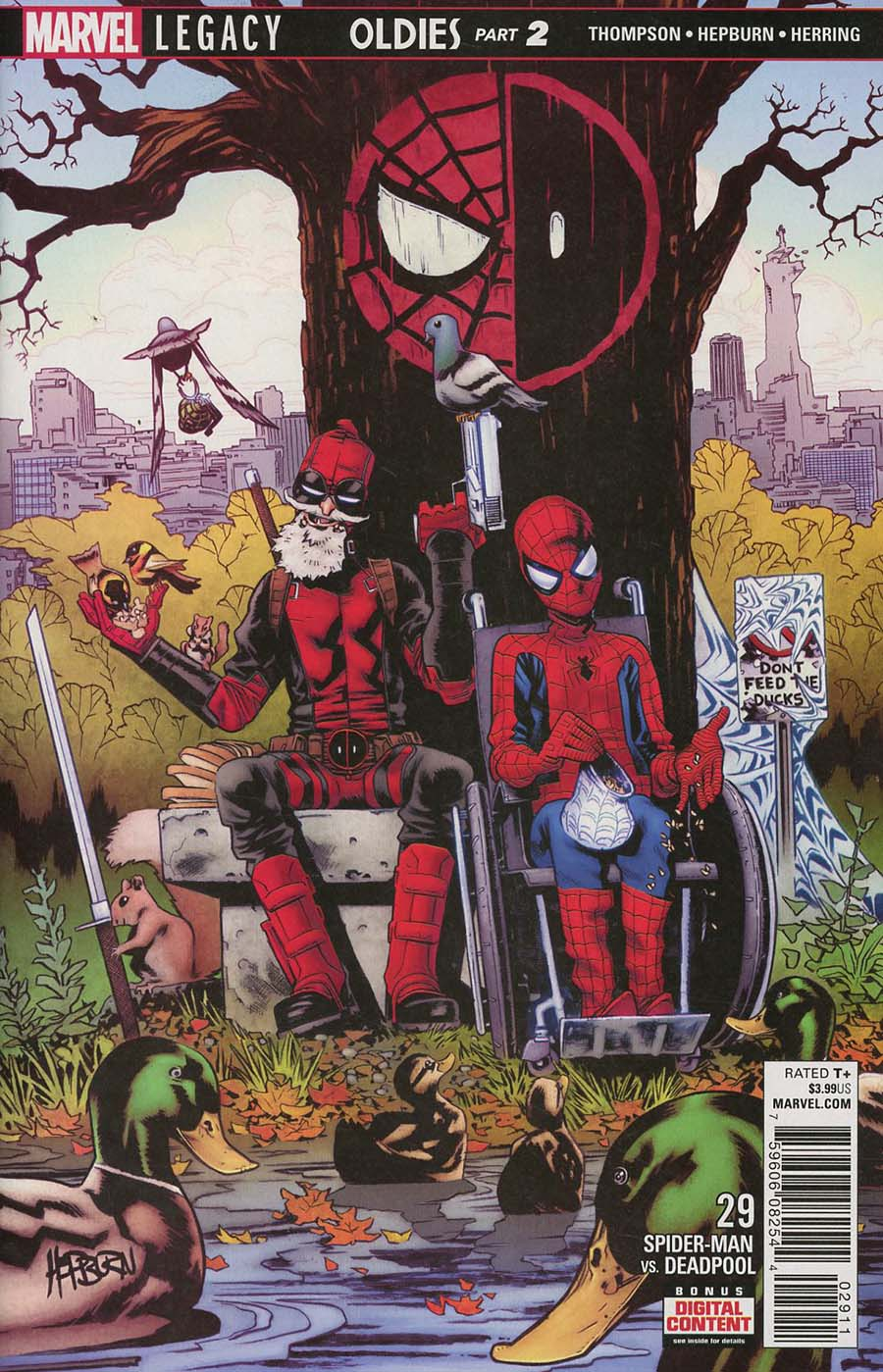 Spider-Man Deadpool #29 (Marvel Legacy Tie-In)