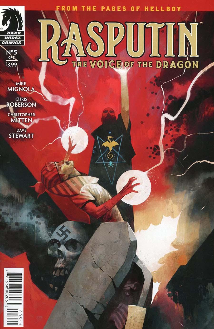 Rasputin Voice Of The Dragon #5 Cover A Regular Mike Huddleston Cover