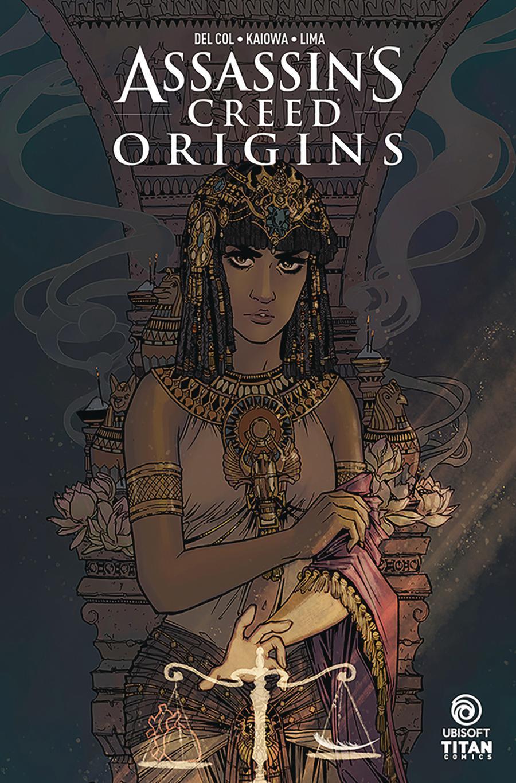 Assassins Creed Origins #3 Cover B Variant Sanya Anwar Cover