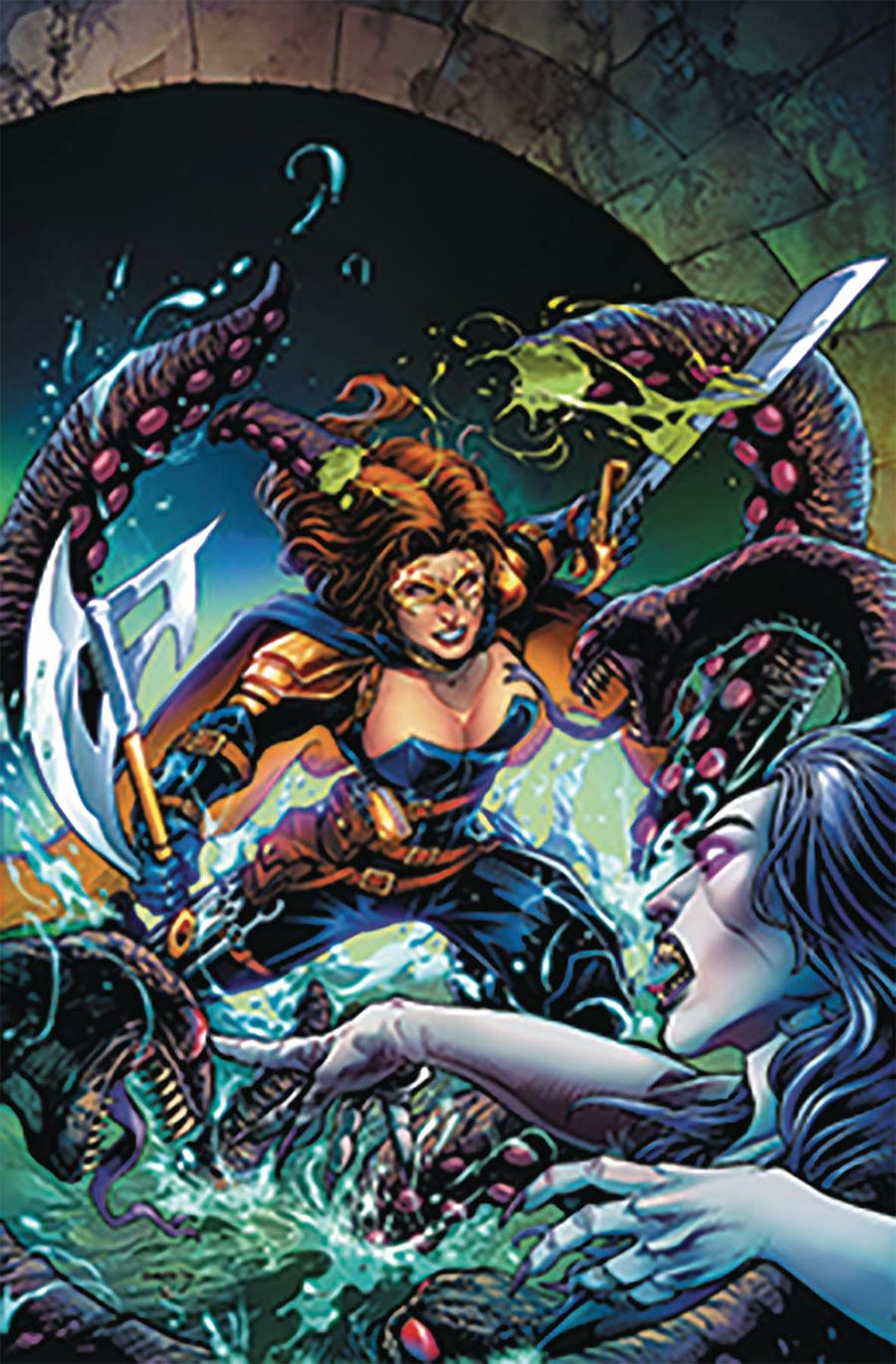 Grimm Fairy Tales Presents Belle Beast Hunter #3 Cover A Bong Dazo