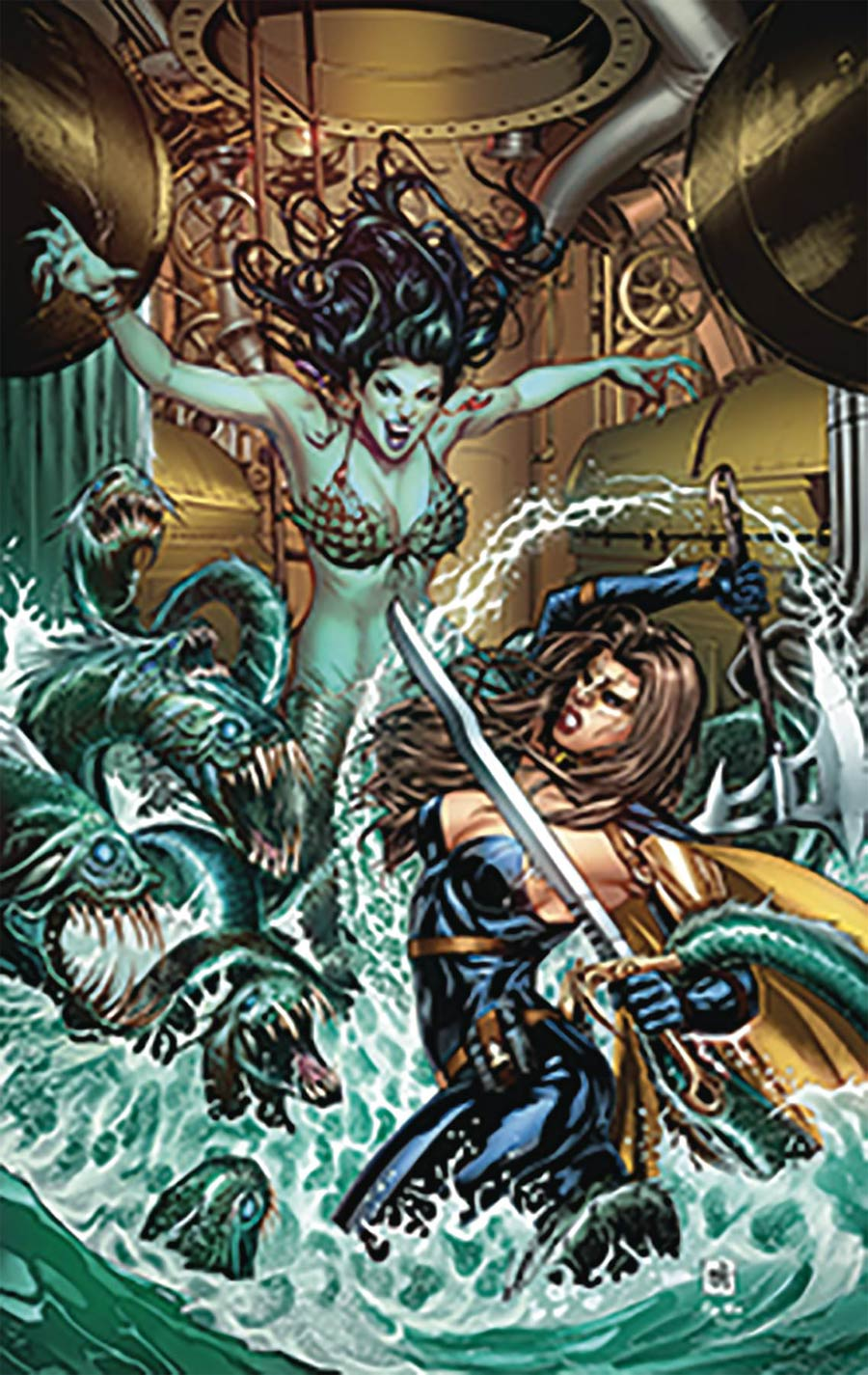 Grimm Fairy Tales Presents Belle Beast Hunter #3 Cover B Mike Krome