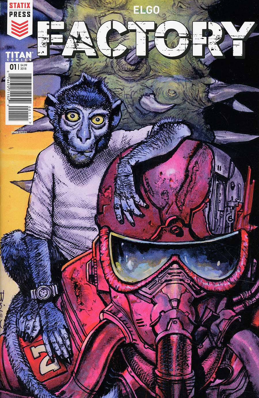 Factory #1 Cover A Regular Simon Bisley Cover