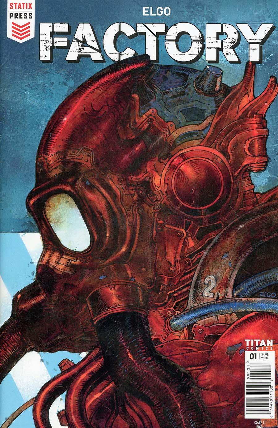 Factory #1 Cover B Variant Yacine Elgo Elghorri Cover