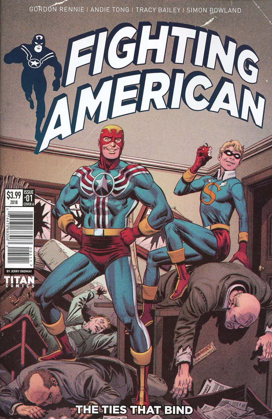 Fighting American Ties That Bind #1 Cover A Regular Jerry Ordway Cover