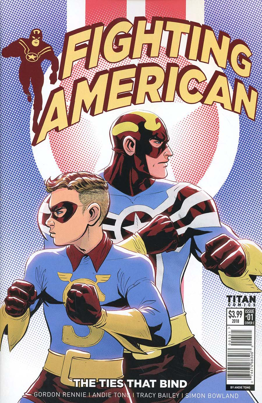 Fighting American Ties That Bind #1 Cover C Variant Andie Tong Cover