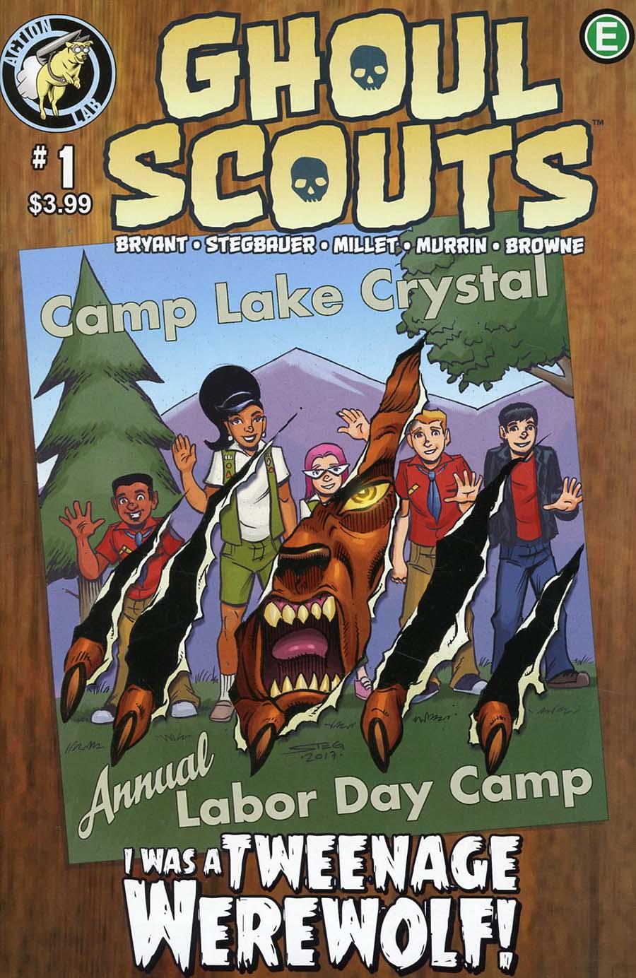 Ghoul Scouts I Was A Tweenage Werewolf #1