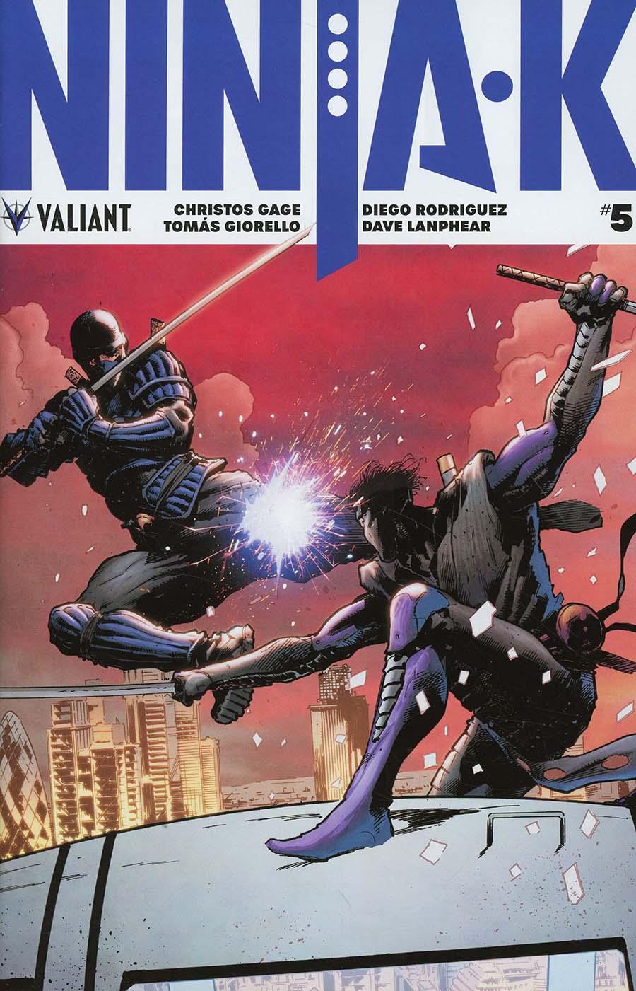 Ninja-K #5 Cover A Regular Trevor Hairsine Cover