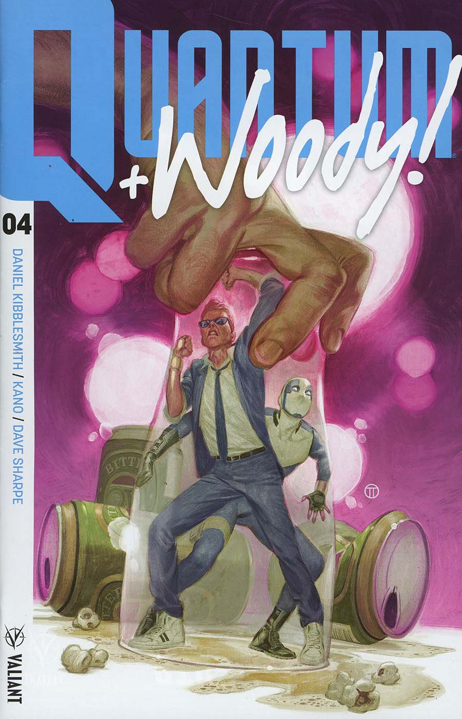 Quantum & Woody Vol 4 #4 Cover A Regular Julian Totino Tedesco Cover